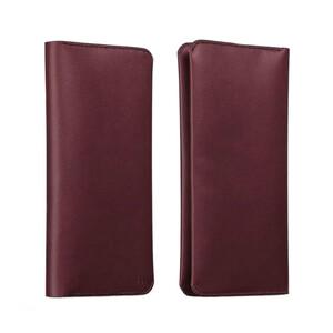 Купить Кожаный чехол HOCO Portfolio Series Red для iPhone/Galaxy