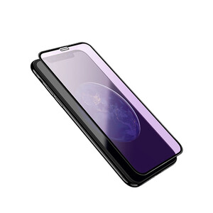 Купить Защитное стекло HOCO Shatterproof Edges Anti-Blue Ray A4 Black для iPhone XR