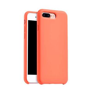 Купить Cиликоновый чехол HOCO Original Series Orange для iPhone 7 Plus
