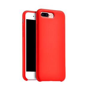 Купить Cиликоновый чехол HOCO Original Series Red для iPhone 7 Plus