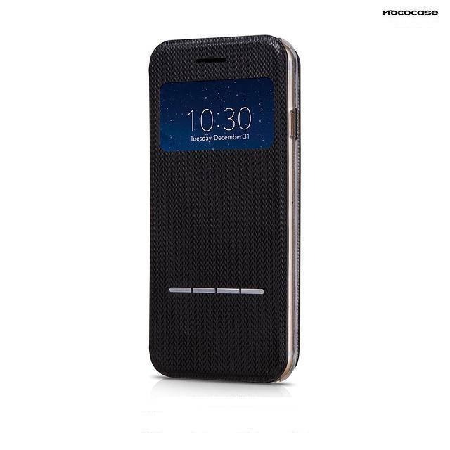 Чехол HOCO Smart Slide Leather Black для iPhone 6/6s