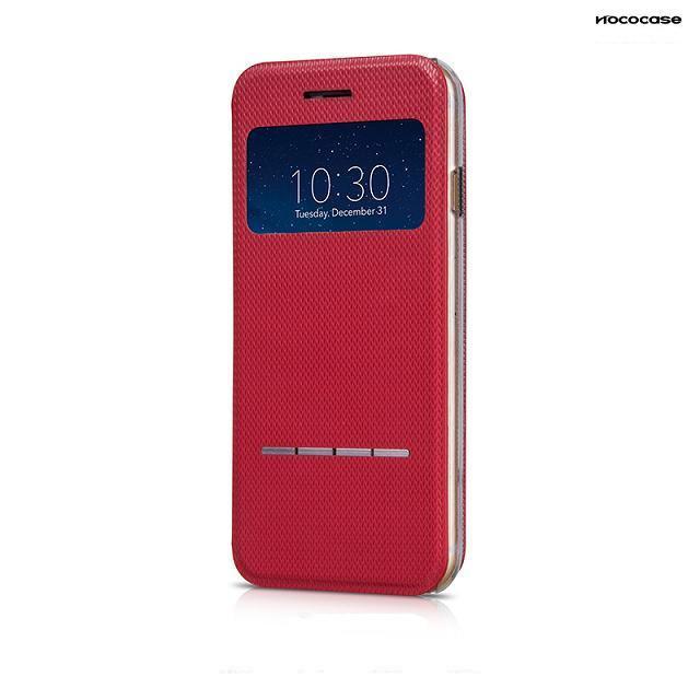 Чехол HOCO Smart Slide Leather Red для iPhone 6/6s