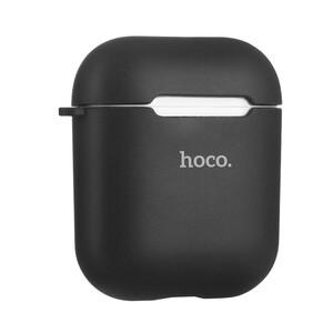 Купить TPU чехол HOCO Soft Case Black для Apple Airpods, Цена 398 грн