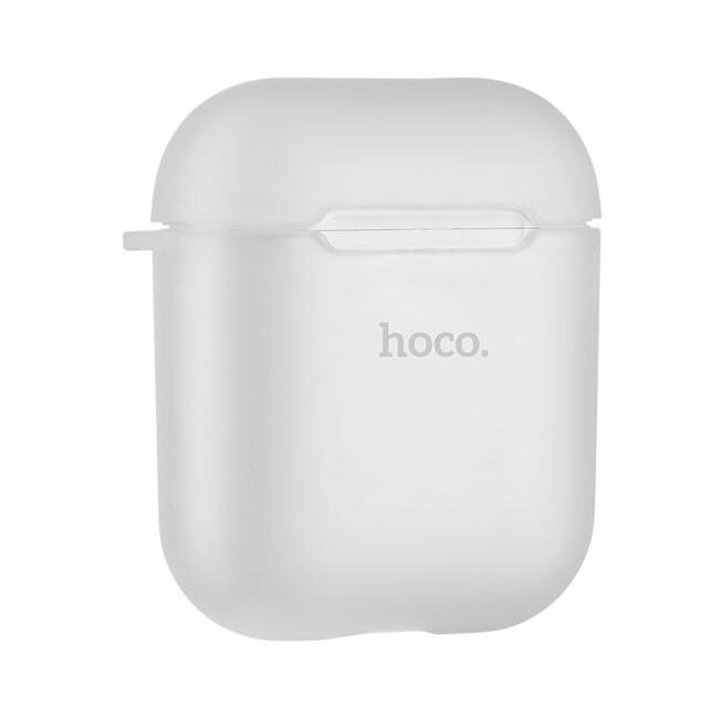 TPU чехол HOCO Soft Case Transparent для Apple Airpods
