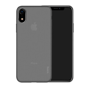 Купить Чехол-накладка HOCO Thin Series Frosted PP Cover Transparent Matte для iPhone XR