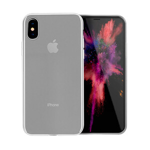 Купить Чехол-накладка HOCO Thin Series Frosted PP Cover Transparent Matte для iPhone X