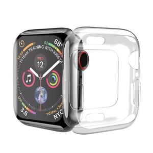 Купить Силиконовый чехол HOCO TPU Case Transparent для Apple Watch 44mm Series 5/4