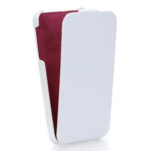 Купить Кожаный чехол HOCO Fashion Royal Series White для iPhone 5/5S/SE