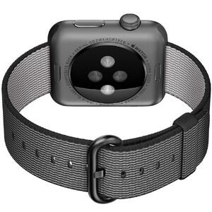 Купить Ремешок HOCO Woven Nylon Black для Apple Watch 38mm Series 1/2