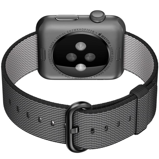 Ремешок HOCO Woven Nylon Black для Apple Watch 38mm