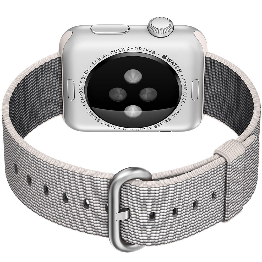 Ремешок HOCO Woven Nylon Pearl для Apple Watch 38mm Series 1/2/3