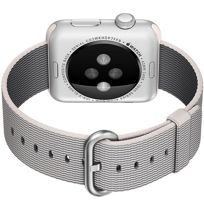 Ремешок HOCO Woven Nylon Pearl для Apple Watch 38mm Series 1/2
