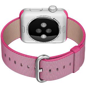 Купить Ремешок HOCO Woven Nylon Pink для Apple Watch 38mm Series 1/2