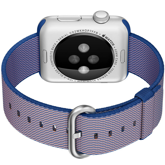 Ремешок HOCO Woven Nylon Royal Blue для Apple Watch 38mm