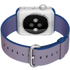 Купить Ремешок HOCO Woven Nylon Royal Blue для Apple Watch 42mm