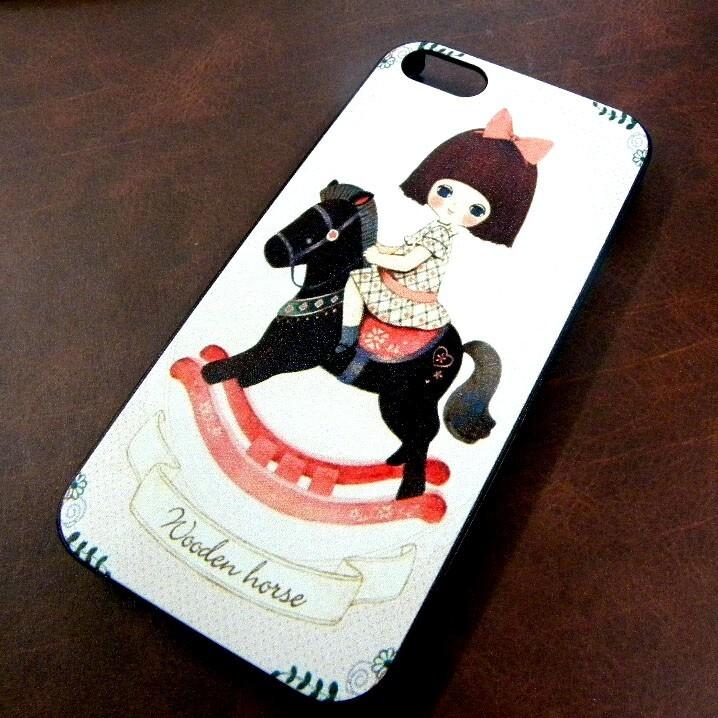 Женский чехол WoodenHorse для iPhone 5/5S/SE
