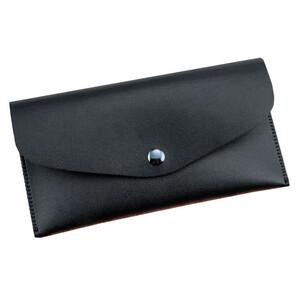 Купить Кожаный чехол-кошелек HOTR Black для iPhone X/7/6s/6 & Samsung S8/S7/S6