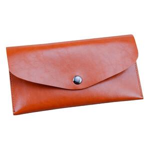Купить Кожаный чехол-кошелек HOTR Brown для iPhone X/XS/8/7/6s/6 & Samsung S9/S8/S7/S6
