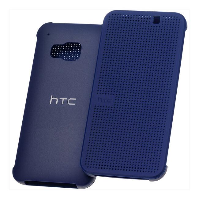 Чехол HTC Dot View Premium Ink Blue для HTC One M9