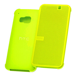 Купить Чехол HTC Dot View Premium Yellow для HTC One M9