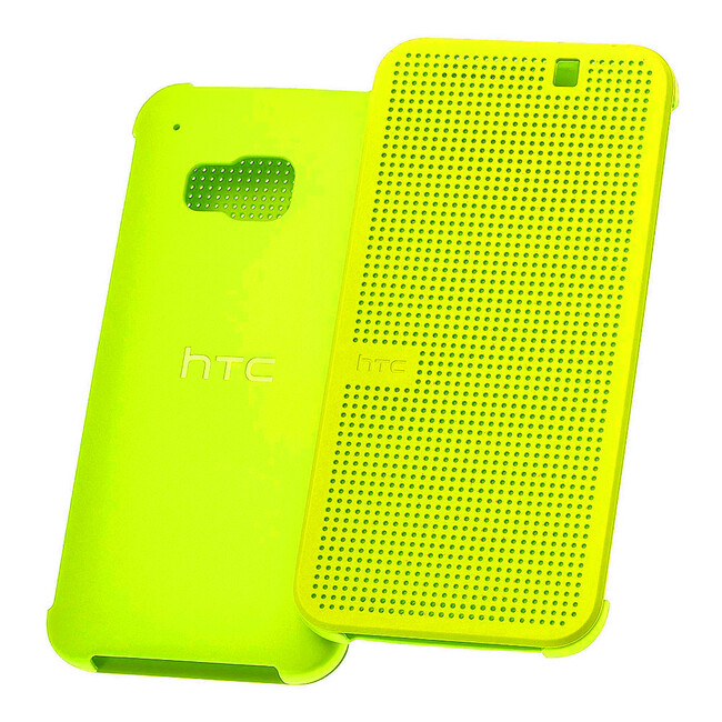 Чехол HTC Dot View Premium Yellow для HTC One M9