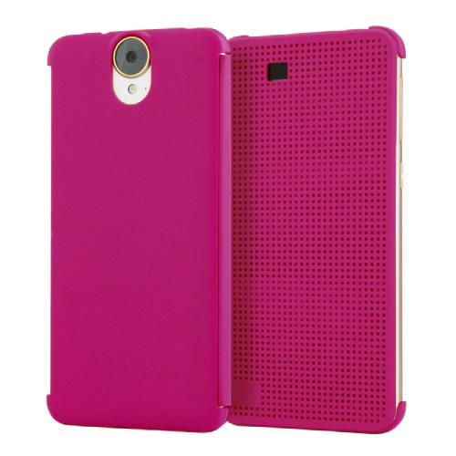Чехол HTC Dot View Premium Hot Pink для HTC One E9+ Plus