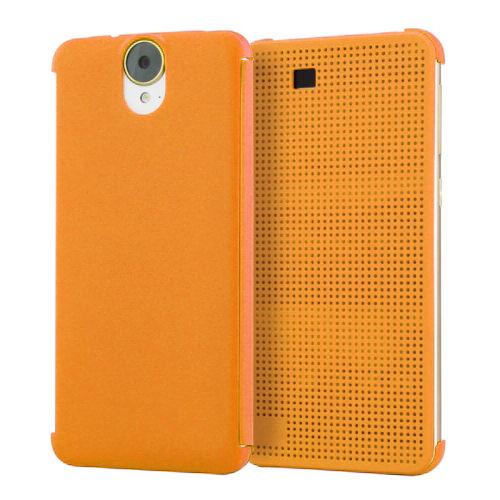 Чехол HTC Dot View Premium Orange для HTC One E9+ Plus