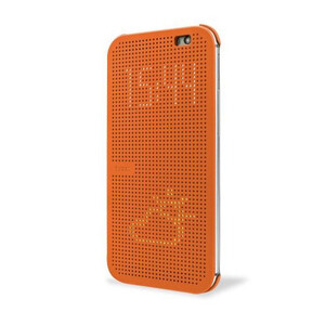 Купить Чехол HTC Dot View Premium Orange для HTC One M9+ Plus