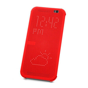 Купить Чехол HTC Dot View Premium Red для HTC One M9+ Plus