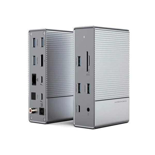 Хаб (адаптер) HyperDrive 16-in-1 Thunderbolt 3 Hub GEN2 4K60Hz | 8K30Hz DP для MacBook | iMac