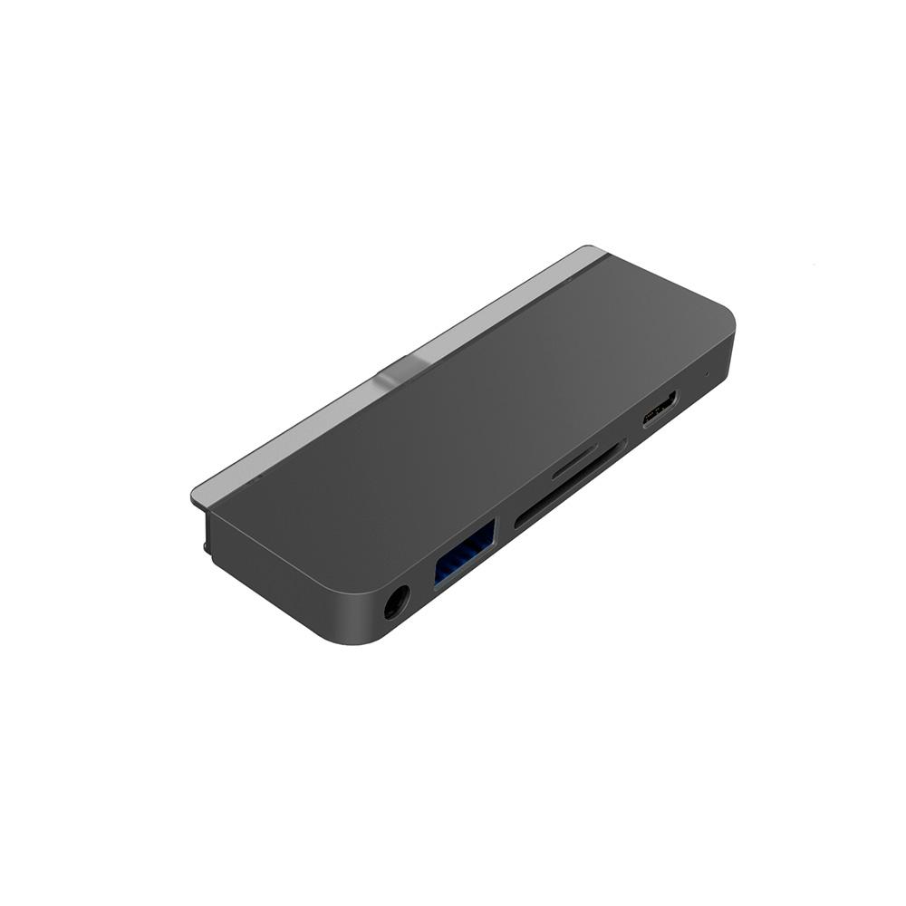 Купить Хаб (адаптер) HyperDrive USB-C PD 6-in-1 для iPad Pro | Air 4 Space Gray