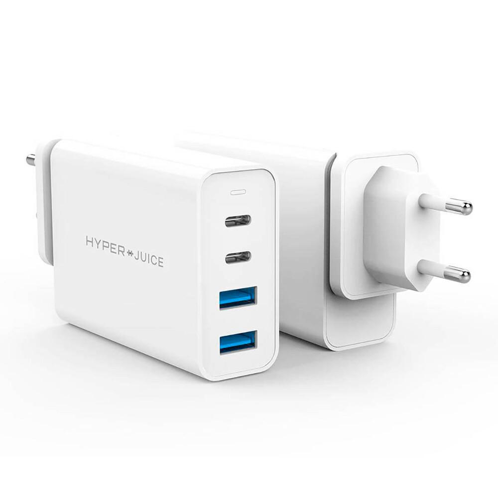 Быстрое зарядное устройство HyperJuice GaN 100W USB-C