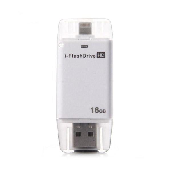 USB-флешка i-FlashDrive HD 16GB Silver для iPhone/iPad/iPod