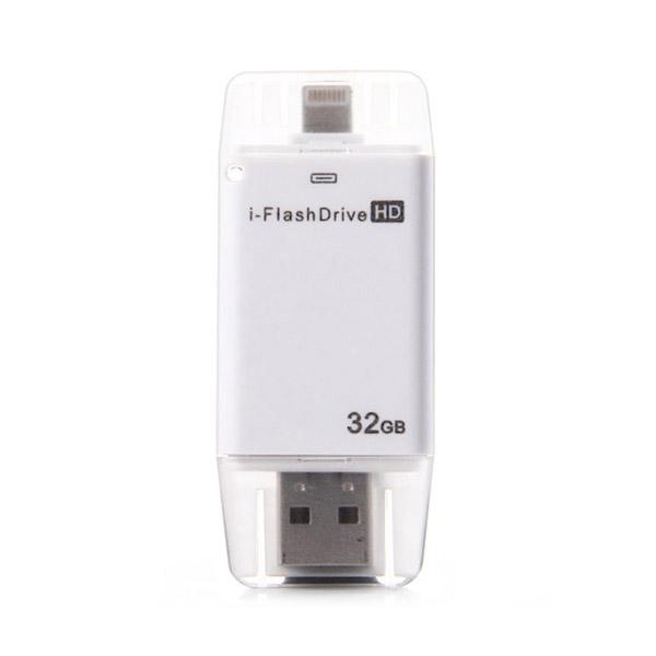 Купить USB-флешка oneLounge i-FlashDevice HD 32GB Silver для iPhone | iPad | iPod