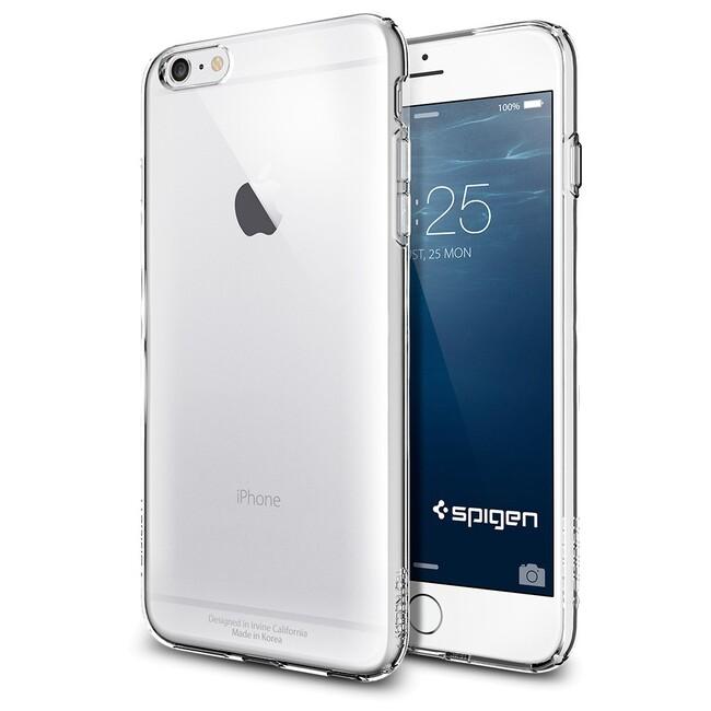 Чехол Spigen Capsule Crystal Clear для iPhone 6/6s Plus