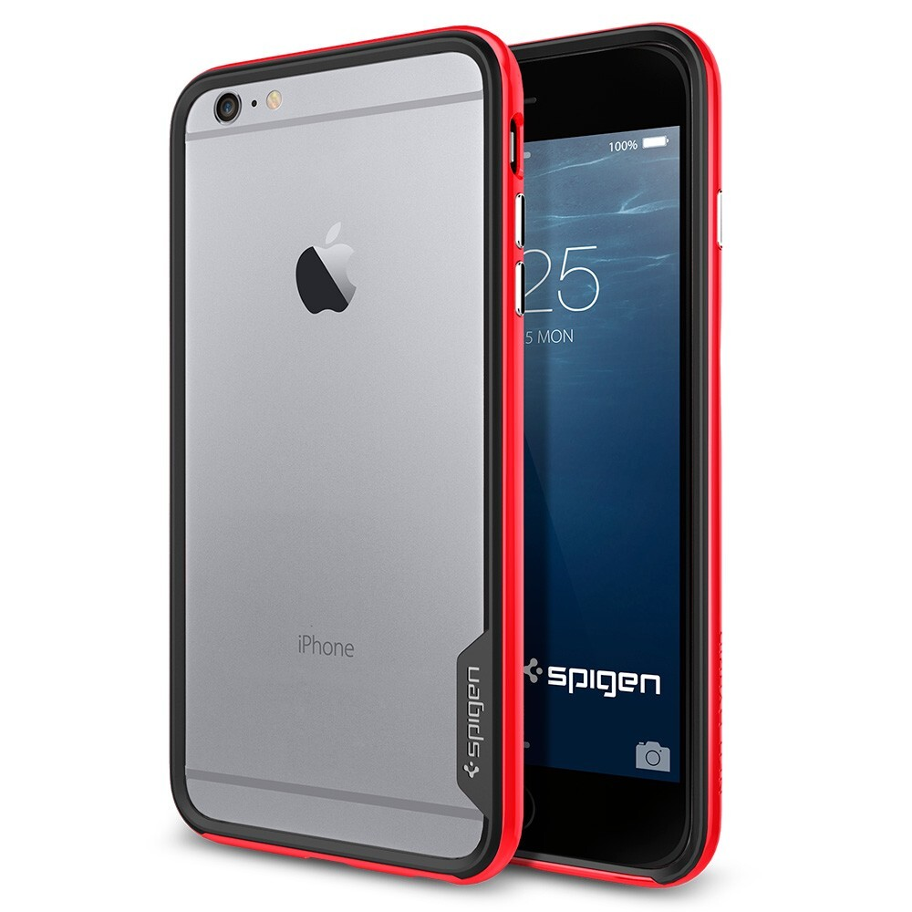 Бампер Spigen Neo Hybrid EX Dante Red для iPhone 6/6s Plus
