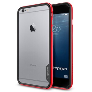 Купить Бампер Spigen Neo Hybrid EX Dante Red для iPhone 6/6s Plus