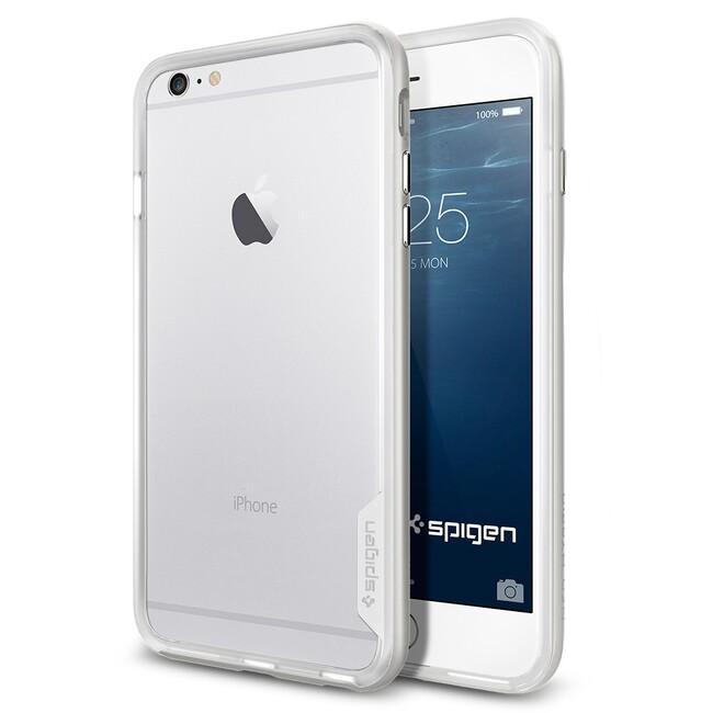Бампер Spigen Neo Hybrid EX Satin Silver для iPhone 6/6s Plus