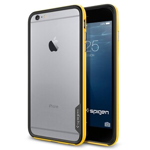 Купить Бампер Spigen Neo Hybrid EX Reventon Yellow для iPhone 6/6s Plus