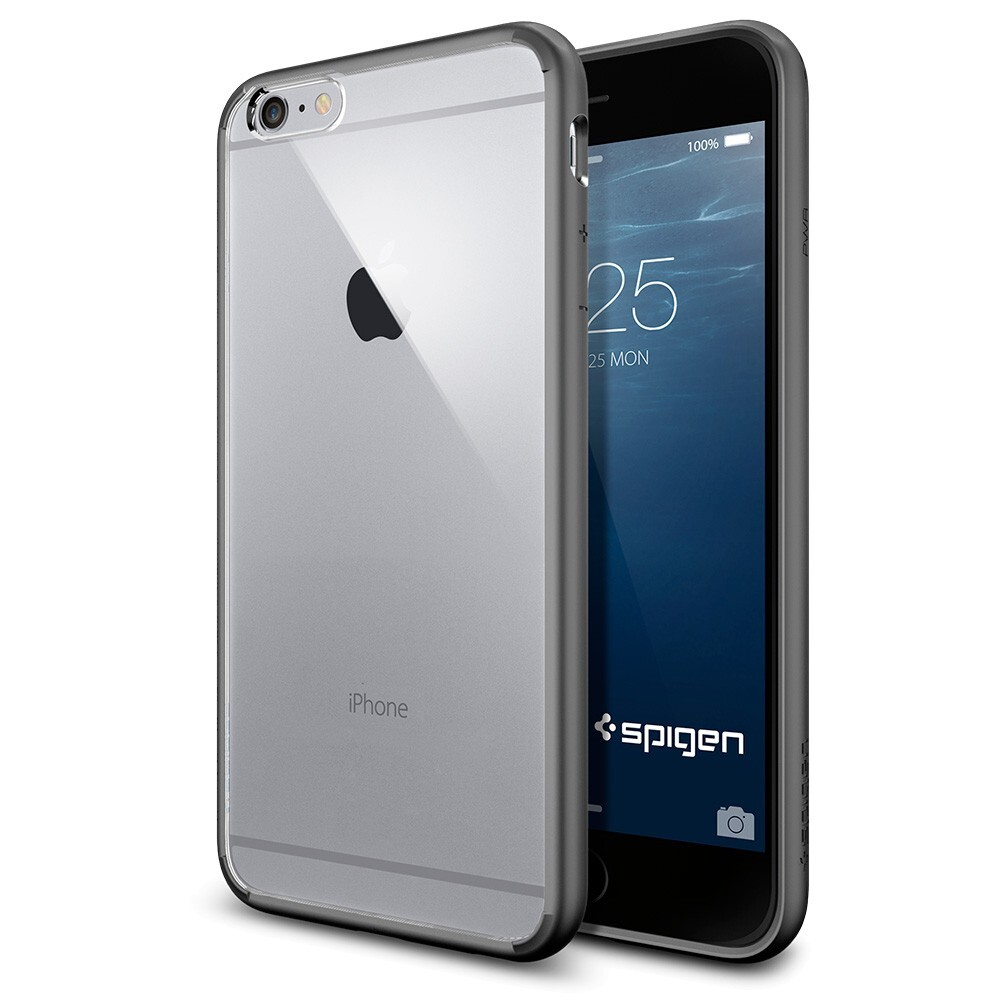 Чехол Spigen Ultra Hybrid Gunmetal для iPhone 6 Plus/6s Plus