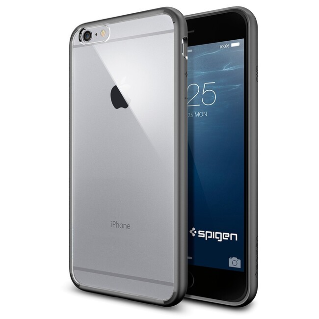 Чехол Spigen Ultra Hybrid Gunmetal для iPhone 6/6s Plus