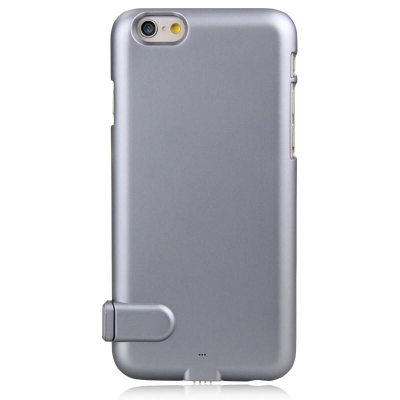 Ультратонкий чехол-аккумулятор iMUCA Slim Power Gray для iPhone 6/6s