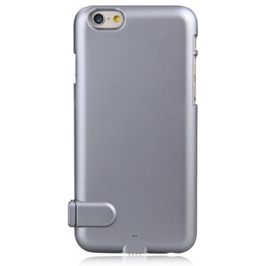 Ультратонкий чехол-аккумулятор iMUCA Slim Power Gray для iPhone 6 Plus