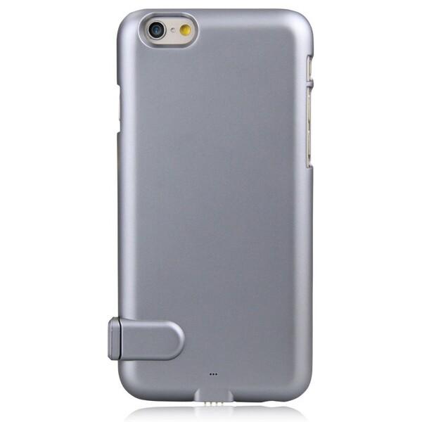 Ультратонкий чехол-аккумулятор iMUCA Slim Power Gray для iPhone 6 Plus | 6s Plus