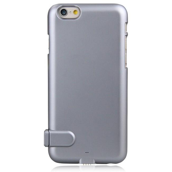 Ультратонкий чехол-аккумулятор iMUCA Slim Power Gray для iPhone 6/6s Plus