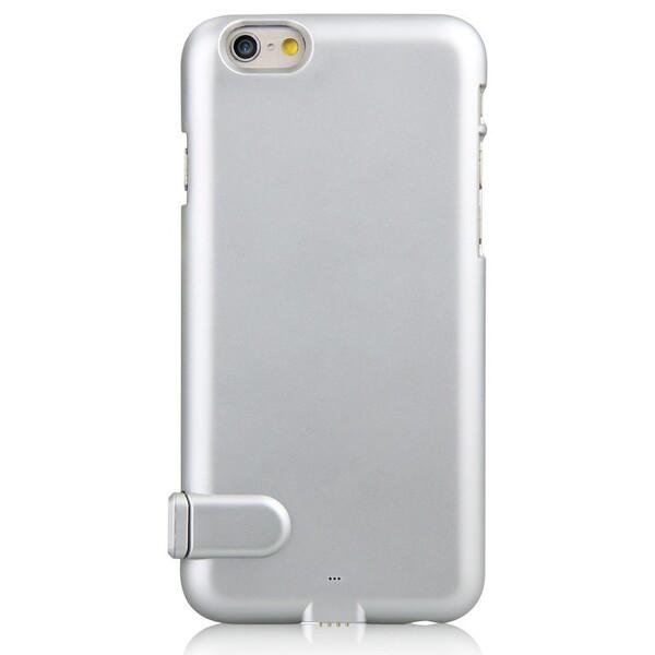 Ультратонкий чехол-аккумулятор iMUCA Slim Power Silver для iPhone 6 Plus | 6s Plus