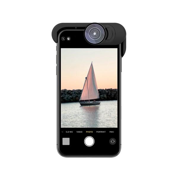 Объектив Olloclip Pocket Telephoto 2X + Fisheye + Macro15x для iPhone 11 Pro