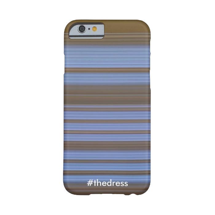 Чехол #thedress черно-синий/бело-золотой для iPhone 6/6s