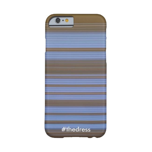 Чехол #thedress черно-синий/бело-золотой для iPhone