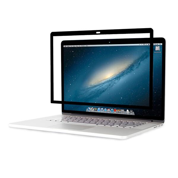 "Защитная пленка iLoungeMax ibovder Frame Screen Protector Black для MacBook 12"""